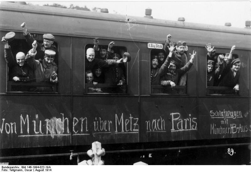 Mobilmachung mit der Bahn 1914