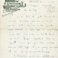 lettre du 3 mars 1916 - page 1